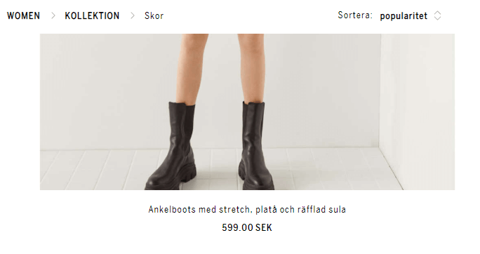 Bershka: Present Prices in the User's Local Currency