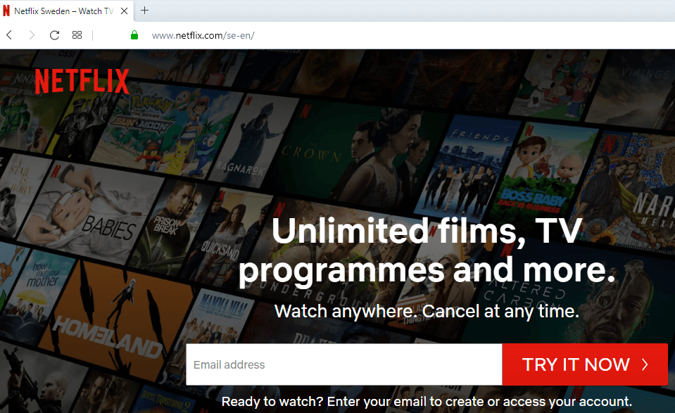 Netflix: Limit User Access to Restricted Content